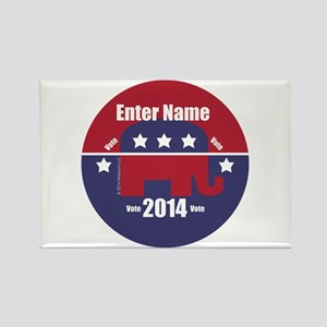 Customizable With Your Candidates Name Magnets