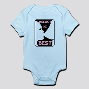 Breast is Best Infant Bodysuit