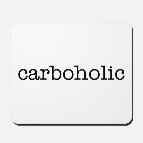 """Carboholic"" Mousepad"