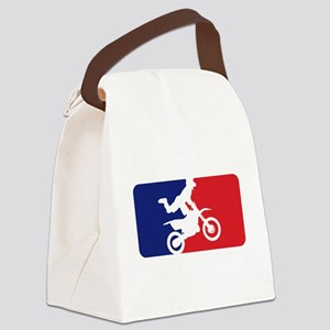 Major League Motocross Canvas Lunch Bag