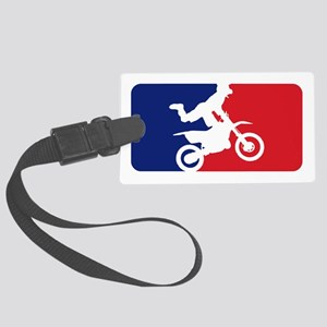 Major League Motocross Large Luggage Tag