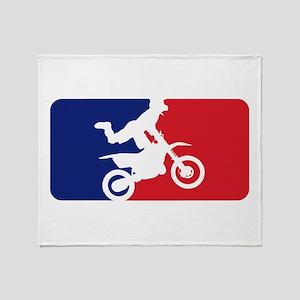 Major League Motocross Throw Blanket