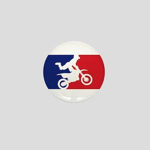 Major League Motocross Mini Button