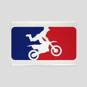 Major League Motocross Rectangle Magnet