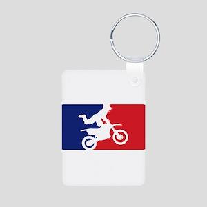 Major League Motocross Aluminum Photo Keychain