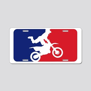 Major League Motocross Aluminum License Plate