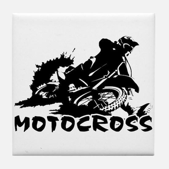 Motocross Tile Coaster