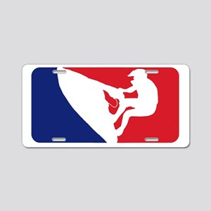 Major League Wave Runner Aluminum License Plate