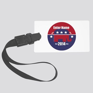 Customizable With Your Candidates Name Luggage Tag