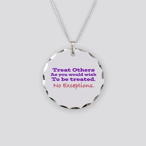No Exceptions large type Necklace
