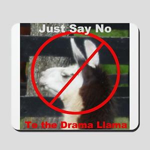 No Drama Llama Mousepad