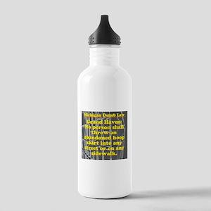 Michigan Dumb Law #5 Water Bottle