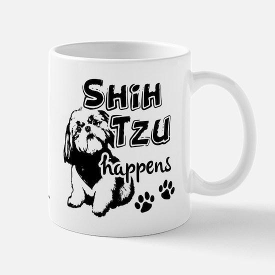 shih tzu happens Mug