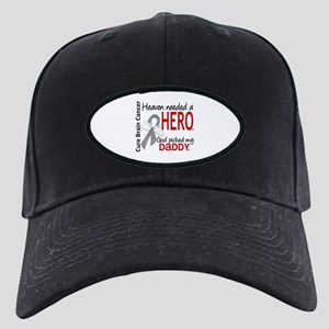 Brain Cancer Heaven Needed Hero 1.1 Black Cap