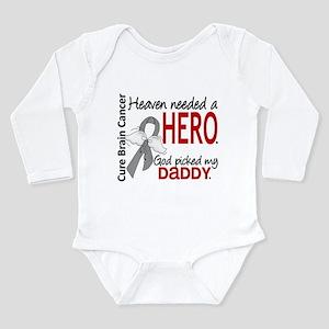 Brain Cancer Heaven Ne Long Sleeve Infant Bodysuit