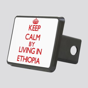 Keep Calm by living in Ethiopia Hitch Cover