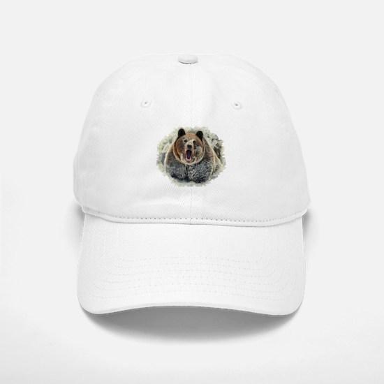 Snow Bear Baseball Baseball Cap