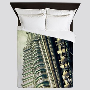 Petronas Towers Singapore Queen Duvet