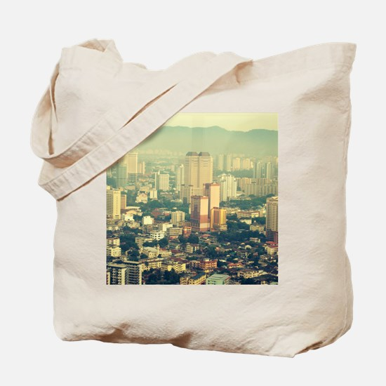 View from the Petronas Towers - Singapore Tote Bag