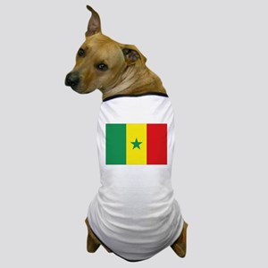 Flag Senegal Dog T-Shirt