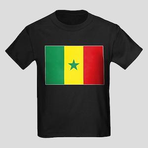 Flag Senegal Kids Dark T-Shirt