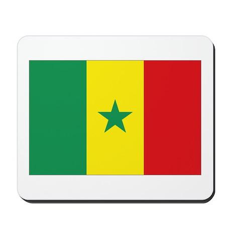 Flag Senegal Mousepad