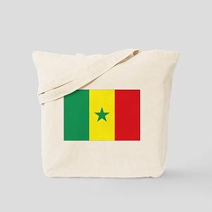 Flag Senegal Tote Bag