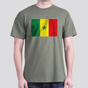 Flag Senegal Dark T-Shirt