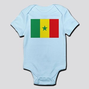 Flag Senegal Infant Bodysuit