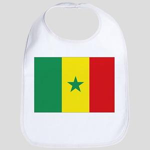 Flag Senegal Bib