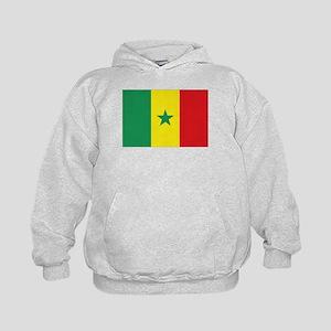 Flag Senegal Kids Hoodie