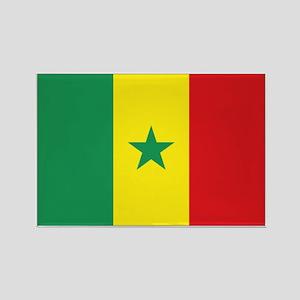 Flag Senegal Rectangle Magnet