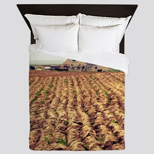 Scottish Farm Queen Duvet