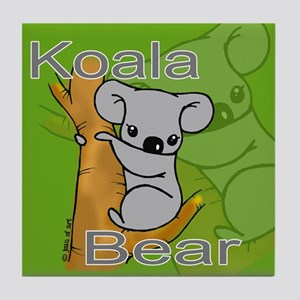 Koala Bears Tile Coaster