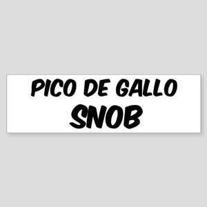 Pico De Gallo Bumper Sticker