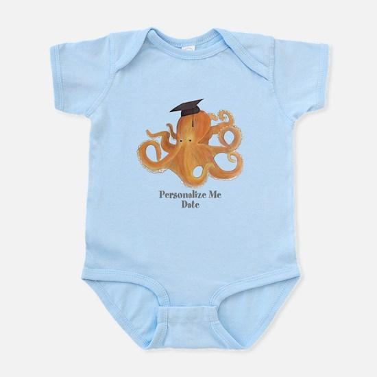 Graduation Octopus Infant Bodysuit