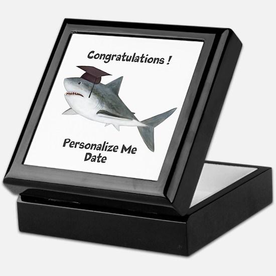 Graduation Shark Keepsake Box