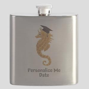 Graduation Seahorse Flask