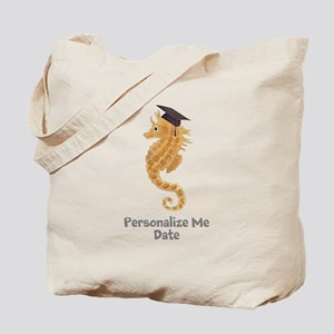 Graduation Seahorse Tote Bag