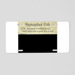 September 11th Aluminum License Plate
