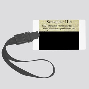 September 11th Luggage Tag