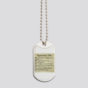 September 10th Dog Tags