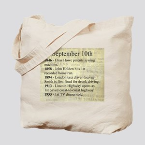 September 10th Tote Bag