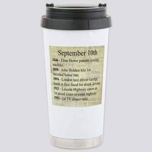 September 10th Travel Mug