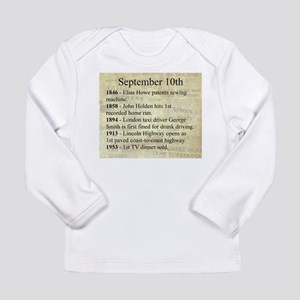 September 10th Long Sleeve T-Shirt