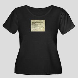 September 10th Plus Size T-Shirt