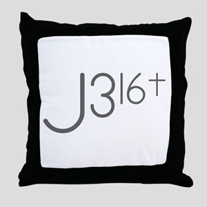 J316Typo Throw Pillow