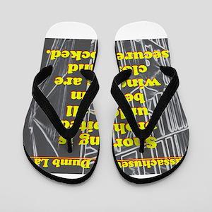 Massachusetts Dumb Law #6 Flip Flops