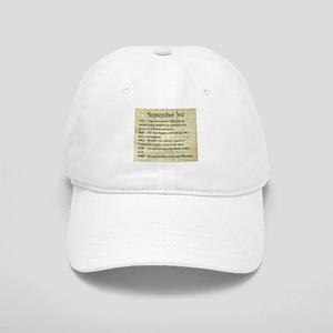 September 3rd Baseball Cap