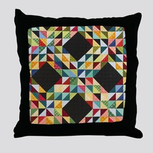 Quilt Patchwork Throw Pillow